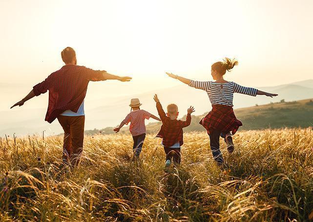 Tańcząca rodzinka